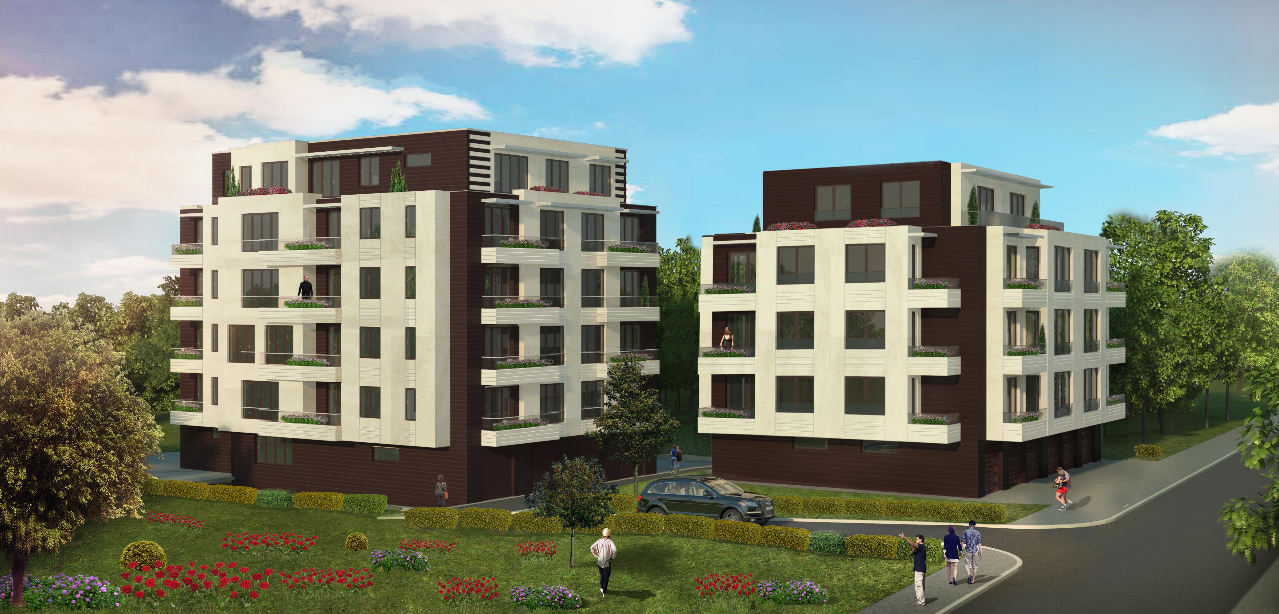 """Многофамилни жилищни сгради - ул. """"Маринковица"""""""